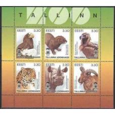 1997 Estonia (EESTI) Michel 294-299KL Fauna 3.50 €