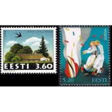 1998 Estonia (EESTI) Michel 325.327 Europa 2.60 €