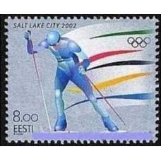 2002 Estonia Mi.426 2002 Olympiad Salt Lake City 1.30