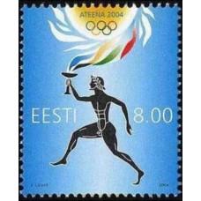 2004 Estonia Mi.493 2004 Olympiad Athens 1.20