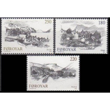 1982 Faroe Islands Mi.72-74 Landscape 2,50 €