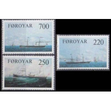 1983 Faroe Islands Mi.9-81 Ships 4,00 €