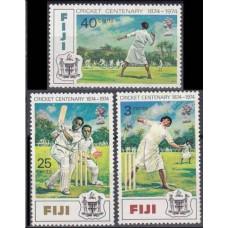 1974 Fiji Mi.317-319 Cricket 5,50 €