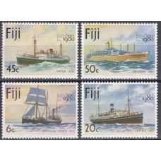 1980 Fiji Mi.420-423 Ships 2,50 €