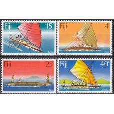 1977 Fiji Mi.368-371 Ships with sails 2,50 €