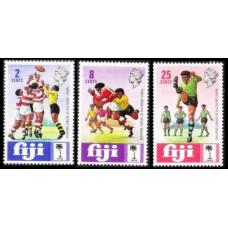1973 Fiji Mi.303-305 Rugby 2,60