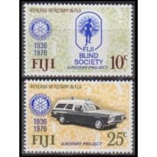 1976 Fiji Mi.352-353 Automobiles 1,60 €