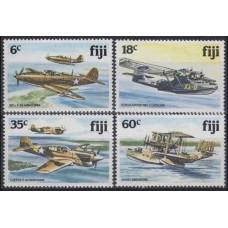 1981 Fiji Mi.448-451 Planes 7,00 €