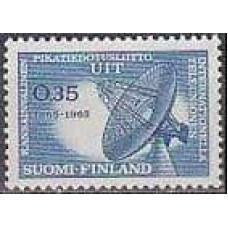 1965 Finland Michel 605 Satellite Dish 0.80 €