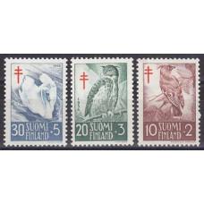 1956 Finland Mi.461-463 Tuberculosis relief fund 6,00 €