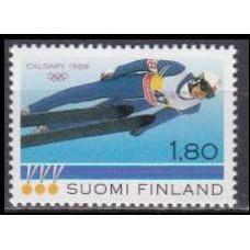 1988 Finland Mi.1049 1988 Olympiad Calgary 1,00 €