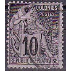 1881 France colonies Michel 49 used 3.60 €