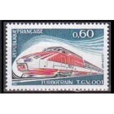 1974 France Mi.1883 Locomotives 1,30 €