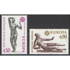 1974 France Mi.1869-1870 Europa 3,50