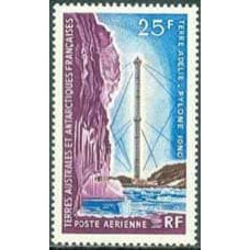 1966 French Antarctic Territory Mi.37 Communications 35.00 €