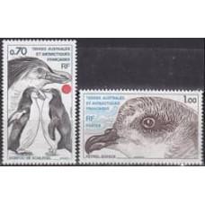 1980 French Antarctic Territory Mi.136-137 Antarctic fauna 4.00 €