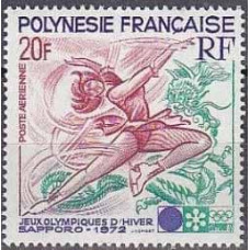 1972 French Polynesia Mi.152 1972 Olympiad Sapporo 11.00 €