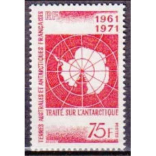 1967 French Antarctic Territory Mi.67 Territory of Antarctica 40,00 €