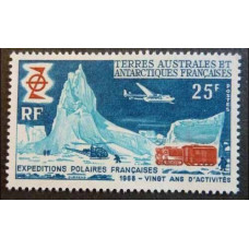 1969 French Antarctic Territory Mi.50 Transport 35,00 €