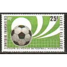1974 French Territory of Afars & Issas Mi.104 1974 World championship on football of Munchen 8,00 €