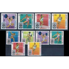 1968 Fujeira Mi.266-75 1968 Olympiad Mexiko 9,50 €