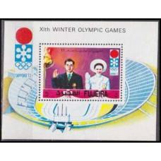 1971 Fujeira Mi.727/B64 1972 Olympiad Sapporo 4,00
