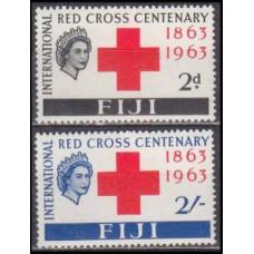 1963 Fiji Mi.175-176** Elizabet II 9,00