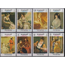 1968 Fujeira Mi.276-83 Paintings 11,00 €