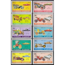 1971 Fujeira Mi.608-17b Automobiles 13,00 €