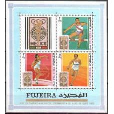 1969 Fujeira Mi.327-29/B10 1972 Olympic Munich 7,50 €