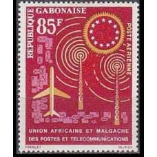 1963 Gabon(R.Cabonaise) Mi.184 Planes 1,90 €