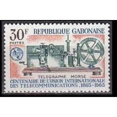 1963 Gabon(R.Cabonaise) Mi.221** UIT 0,90 €