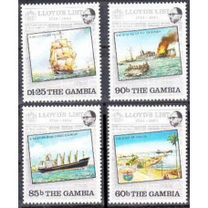 1984 Gambia Mi.525-526 Ships with sails 6,50 €