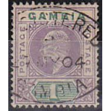 1902 Gambia Michel 35 used W-2 130.00 €