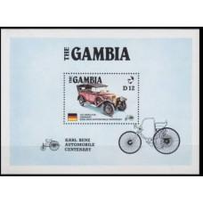1986 Gambia Mi.634/B24 Automobiles 11,00 €