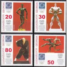 2004 Georgia Mi.465-468 2004 Olympic Athens 3,60 €