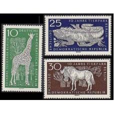 1965 Germany, East(DDR) Mi.1093-1095 Fauna 3,00 €