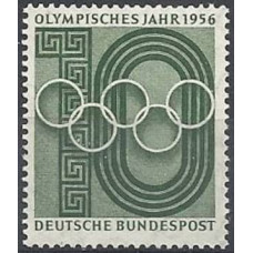 1956 Germany, West Mi.231 1956 Olympiad Melbourne 1,10 €