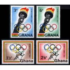 1960 Ghana Mi.84-87 1960 Olympiad Rim 1,30 €