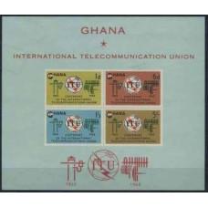 1965 Ghana Mi.210-213/B17b ITU 16,00 €