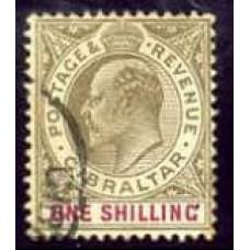 1905 Gibraltar SG 61 (GBP 17.00)