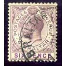 1912 Gibraltar SG 80 (GBP 17.00)