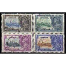 1935 Gibraltar Michel 100-103 used George V 35.00 €