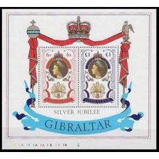 1977 Gibraltar Mi.346-47/B3 Elizabet II 4,50 €