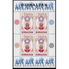 1976 Gibraltar Mi.337/B2 200 th States of America 6,00 €