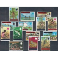 1976 Gilbert & Ellice Mi.248-261 Sea fauna 45,00 €