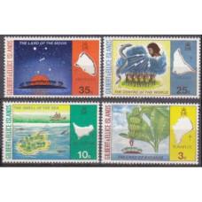 1973 Gilbert & Ellice Mi.203-206 4,00 €