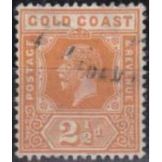 1923 Gold Coast Mi.79 w 4 used George V 16.00 €