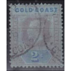 1913 Gold Coast Mi.69 I used George V 5.00 €