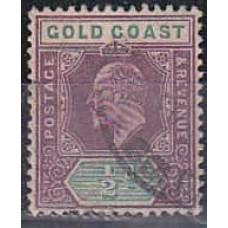 1907 Gold Coast Michel 45 used 11.00 €